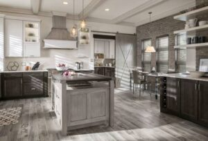 How to match kitchen cabinets and countertops
