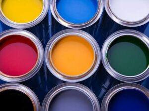 What kind of spray paint to use on kitchen cabinets